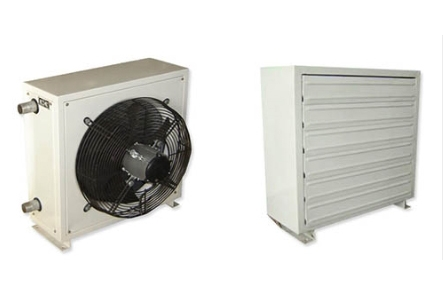 热水(蒸汽)型暖风机